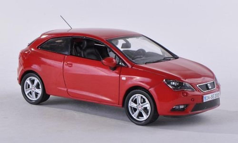 Seat Ibiza SC, rot , 2013, Modellauto, Fertigmodell, Seat 1 43 B00F0N64KM Elegant und feierlich  | Glücklicher Startpunkt