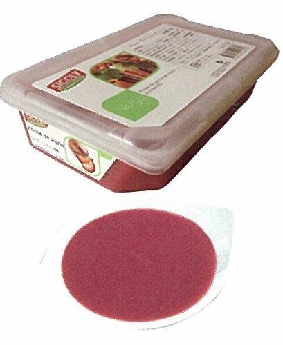 【シコリ】冷凍ペシュヴィーニュピューレ(10%加糖)1kg<赤桃>