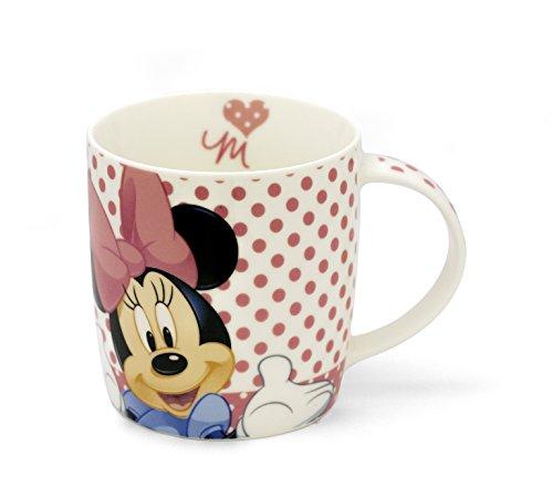 Personality Taza de desayuno, leche, capuchino, Mug Disney Brontolo 400 cc porcelana Churchill (Minnie)