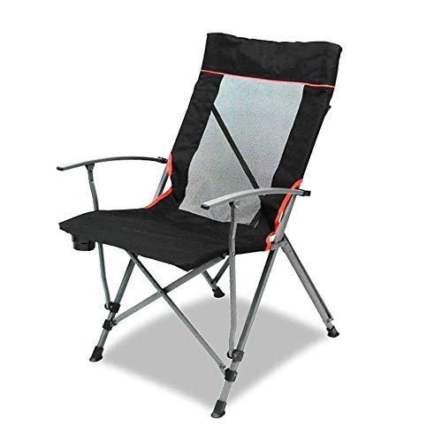 FUJGYLGL Silla Plegable de Camping con cifrado 600D Oxford Tela, una Buena transpirabilidad for la Barbacoa de Picnic y Aire Libre