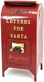 Zaer Ltd. Letters Santa Christmas Mailbox Decoration, 2.1 Feet Tall