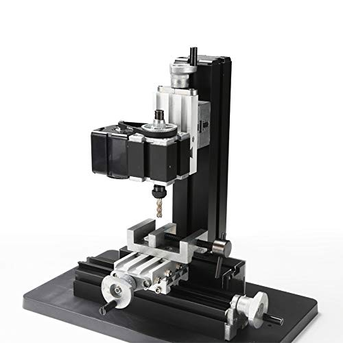 Variable Speed Single Phase Compact Benchtop Milling Machine High Power