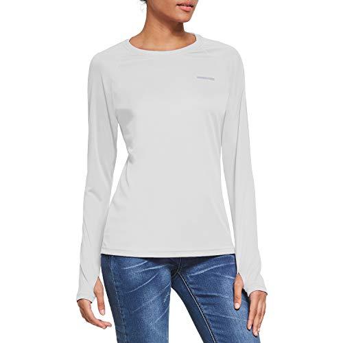Ogeenier Damen UV Shirt Sonnenschutz UPF 50 Langarmshirt mit Daumenloch Funktionsshirt Outdoor