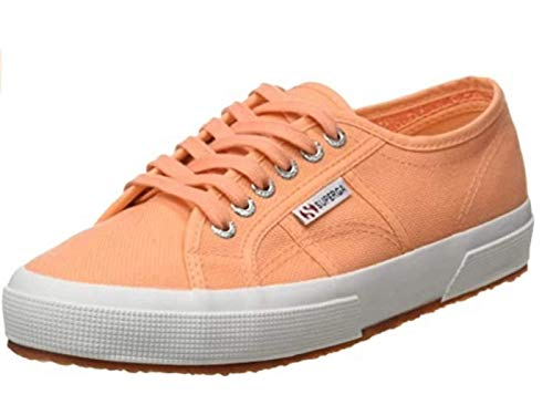 Superga 2750 COTU Classic, Zapatillas Unisex Adulto, Naranja (Orange Melon 230), 44.5 EU