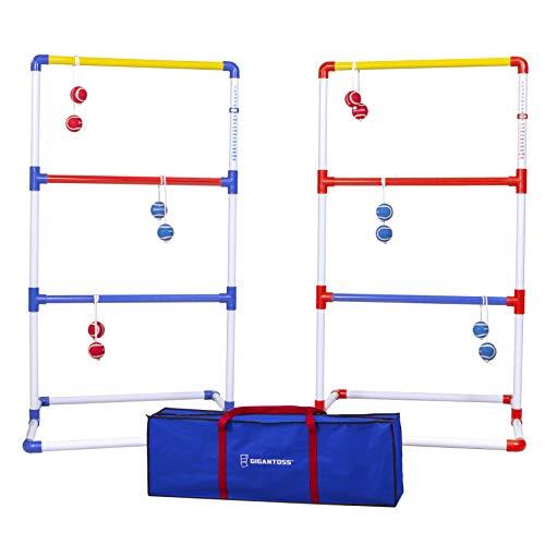 GoSports Gigantoss Ladder Toss Set -...