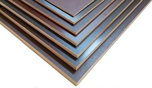 Siebdruckplatten 9mm 30€m² Siebdruckplatte Siebdruck Sperrholz Birke Anhänger NEU (125 x 40 cm)