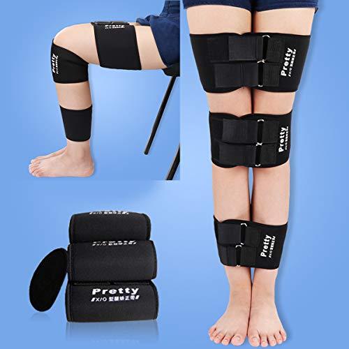 Ajustable O/X-tipo Corrección Pierna Bowlegs Leggings Cadera Ortesis Piernas Curvas Corrector para niños adultos (Size : M)