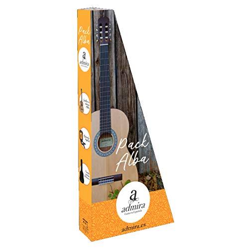 Admira (Alba) - Kit principiante 4/4 (Pack) chitarra classica spagnola