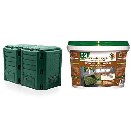 Unbekannt Compostiera Prosperplast & BSI 18260 Attivatore di compost per erba tosata, 6 kg