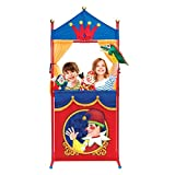 Deluxe Puppet Show Theater Sturd...