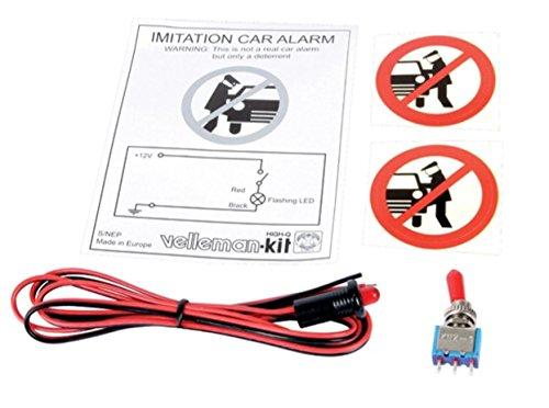VELLEMAN - K/NEP KFZ Alarmlicht, Alarmblinker, Simulator, Dummy, 12V Bau 365161