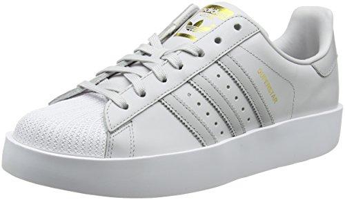 adidas Damen Superstar Bold Fitnessschuhe, Grau (Griuno/Gridos/Ftwbla 000), 42 2/3 EU