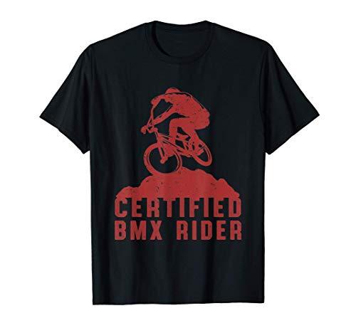 BMX Fahrer Fahrrad Fahren Radsport Extremsport Geschenk T-Shirt