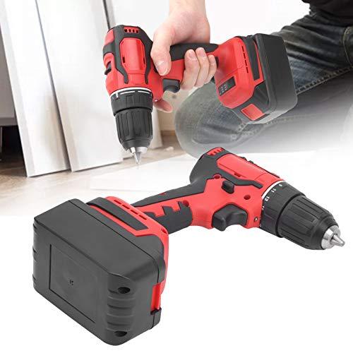 Destornillador de alta potencia, batería de litio Destornillador recargable Destornillador sin escobillas Taladro eléctrico Práctico Duradero para taladrar Madera para taladrar tornillos(Transl)