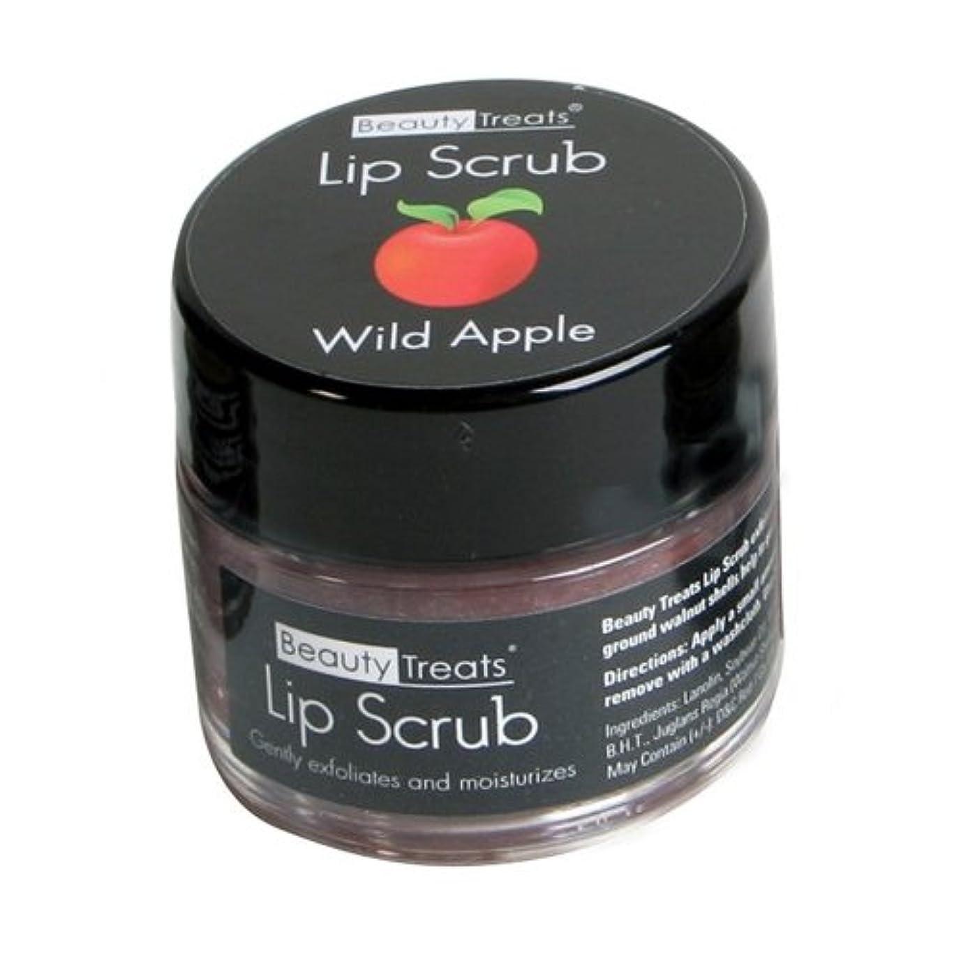 計算する摂氏放棄された(6 Pack) BEAUTY TREATS Lip Scrub - Wild Apple (並行輸入品)