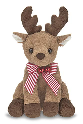 Bearington Hoofington Christmas Plush Stuffed Aninal Reindeer, 9 inches