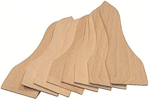 Hofmeister Holzwaren 16 Stück Racletteschieber