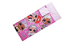 Featuring DJ, Beats, MC Swag and Funky QT this officially licensed L. O. L Surprise sleeping bag is sure to put a smile on your little one's face. Perfect for sleepovers and comes complete with a drawstring bag for easy storage and transportation. Ap...