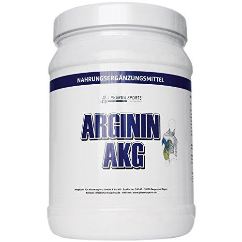 100% AAKG Powder - 500g reines Arginin AKG - Pures Arginin Alpha Ketoglutarat Pulver