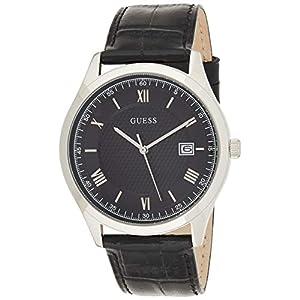 Guess Reloj Analógico para Hombre de Cuarzo con Correa en Cuero W1182G3