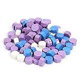 100Pcs / lot Vintage Wax Seal Tablet Pill Beads para sellar sello Wax Bead Envelope Wedding Dr DIY Seal Stamp Craft-E 100Pcs, China
