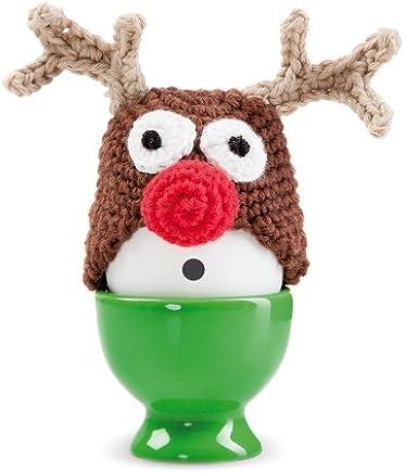 Preisvergleich für DONKEY Products Eierwärmer Funky Eggs Red Nose Egg