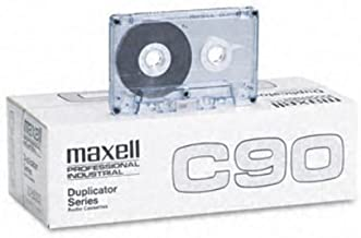 MAXELL 101202 Professional Bulk Normal Bias Audio Tape (90 min, 20 pk)