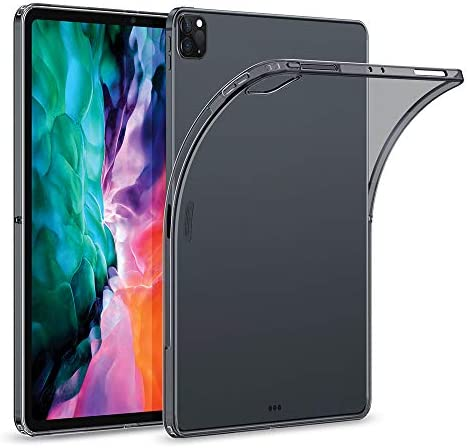 ESR Rebound Soft Shell Case for iPad Pro 12 9 2020 2018 Clear TPU Back Cover Supports Pencil product image