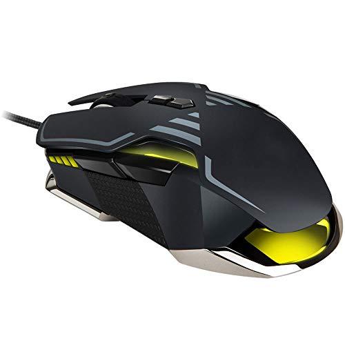 XUMINGSB Mouse PMW3389 Sensor 16000 DPI muis speeltoetsen 50g Acc RGB optische kabel voor muis aangesloten handen op de speler