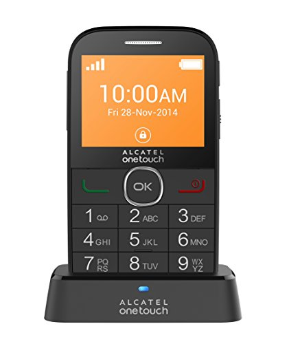 Alcatel Onetouch 2004G - Móvil libre de 2.4' (Chipset M6260A) color negro