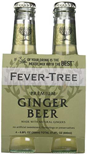 Fever-Tree Premium Ginger Beer, 6.8 Fl Oz 4 count