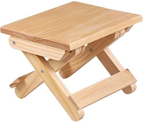N / A portátil 24x19x17.8cm única Silla de Playa Plegable Muebles de Exterior en Madera Silla de la Pesca sillas pequeñas de heces Moderna Silla de Camping