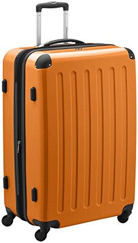 HAUPTSTADTKOFFER - Valigia Rigida Alex, TSA, Taglia 75 cm, 119 Litri, Colore Arancione