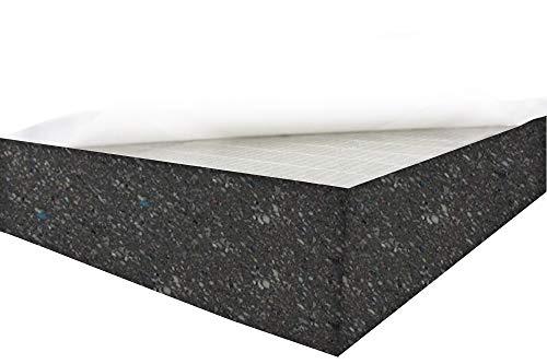 Dibapur® Verbundschaumstoff SELBSTKLEBEND - (Ca.50x50x2 cm) - RG140 - Akustik Schaumstoff Brandverhalten flammhemmend nach MVSS302
