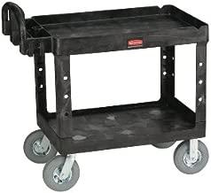 Rubbermaid Commercial Heavy-Duty Utility Cart RCP 4520-10 BLA