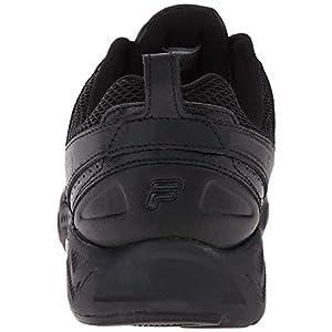 Fila Men's Capture Running Shoe,Triple Black,13 M US