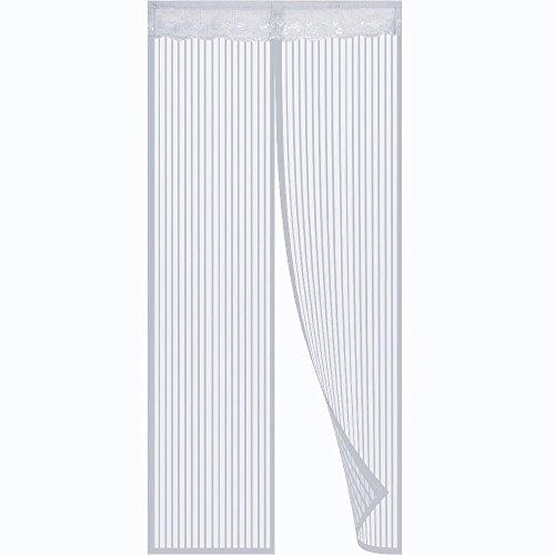 cortinas de exterior blanca