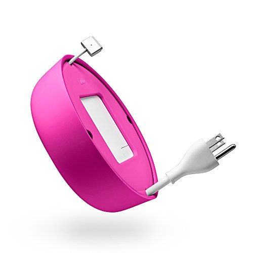 Quirky Powercurl V2 POP 60W Wire Organizer, Pink (PPRCP-60PK)