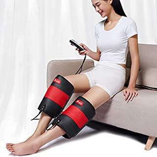 Wearable Massage Knee Brace Vibration Therapy Device Warm Up, Loosen, and Relax Sore and Stiff Muscles Knee Pain Relief for Waist, Quad, Hamstring Or Calf Fauay