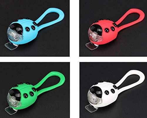 blueqier - Luces traseras para Bicicleta, diseño de Ladybug de ...