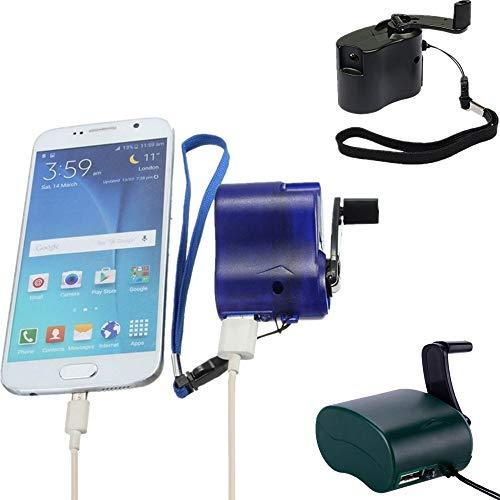NOBGP 3 Paket Mini handkurbel ladegeräte, USB Handy Notfall Dynamo für Camping wandern Outdoor Sports travel Handy ladegerät Camping ausrüstung überleben Werkzeug