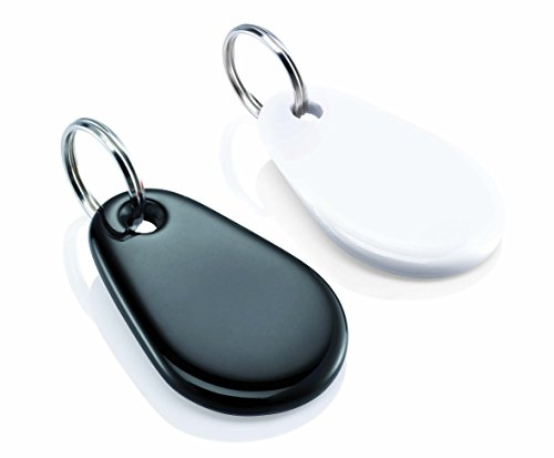 Somfy 2400990 - Protexiom Chipausweis im Doppelpack, für Somfy Protexiom und Protexial Alarmanlage, schwarz und weiß