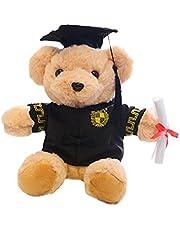 2021 Graduatie Beer Pluche Gevulde Dier Bear Doll in afstuderen Outfit Animal Plushie 2021 Graduation Gift