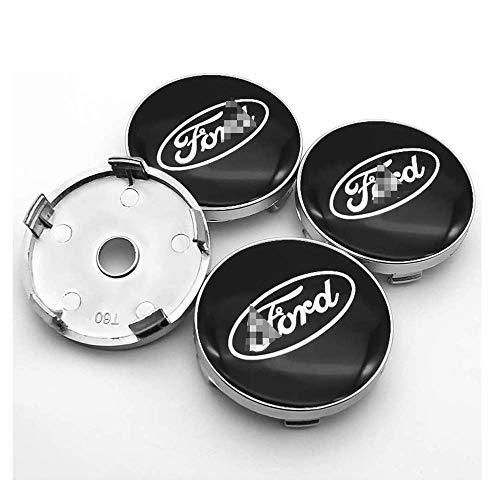 4 Piezas Coche Tapas Centrales Llantas Para Ford Mustang Explorer Fiesta Focus...