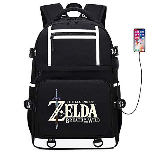 RuiHai Trading Rucksack mit Anime-Motiv The Legend of Zelda groß Kapazität