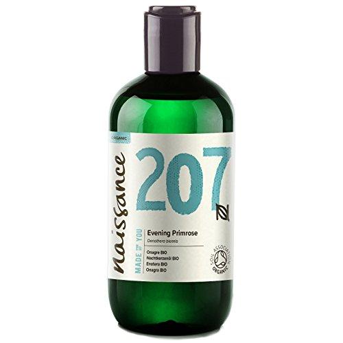 Naissance Huile d'Onagre Certifiée BIO (n° 207) - 250ml - 100% pure, naturelle et pressée à froid