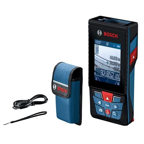 Trena Laser Bosch GLM 120 C alcance 120m com Bluetooth