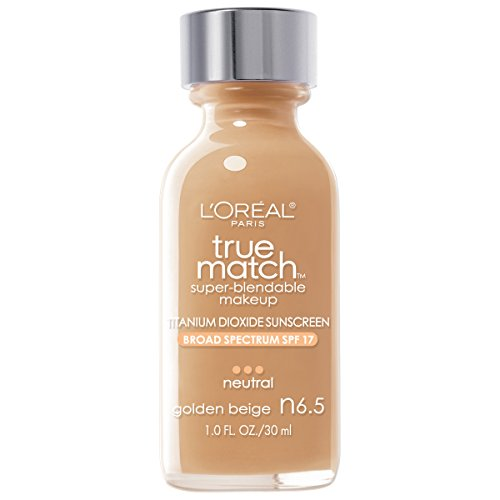 L'Oreal Paris True Match Super-Blendable Makeup, Golden Beige, 1 fl. oz.