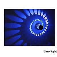 HLL 装飾的なシャンデリア、シーリングランプ、カラフルなLedアルミ壁ランプ、天井アイルLedウォールランプ、ポーチの背景KtvライトエフェクトLedウォールランプ、イエローライト,青色光