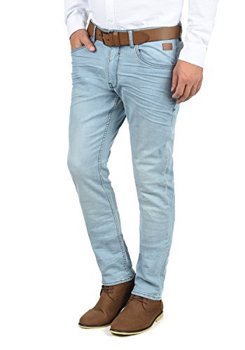 Blend Taifun Herren Jeans Hose Denim Aus Stretch-Material Slim Fit, Größe:W33/32, Farbe:Denim Lightblue (76200)